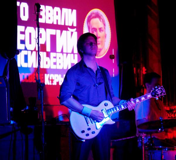 Миша, Лёня. Презентация альбома «Без мая», звучит песня «Кокарда».